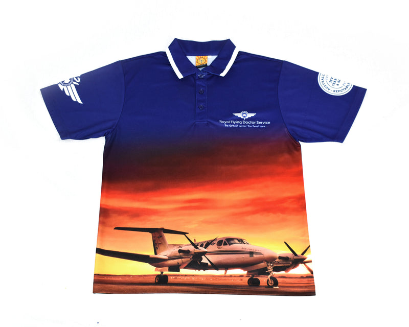 Men's Polo - Sunset
