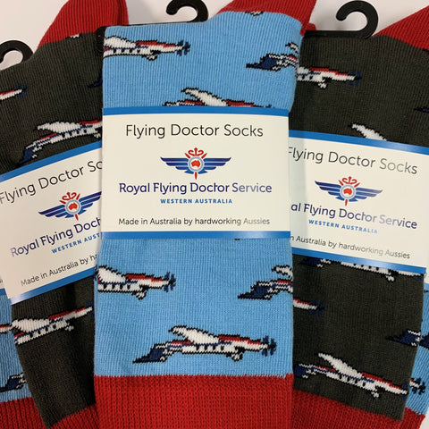 Flying Doctor Socks