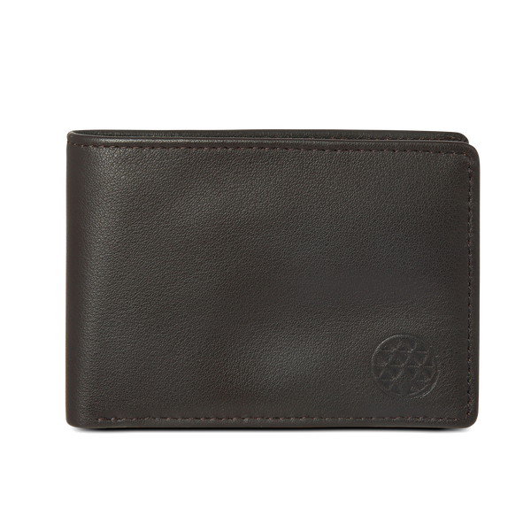 Mini Wallet: Brown