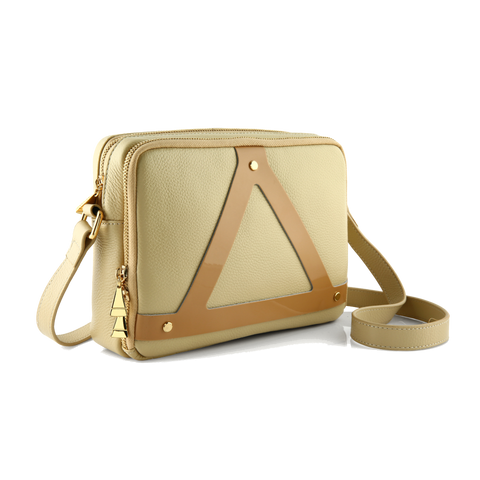 Triangle Bag 1.0: Patent leather