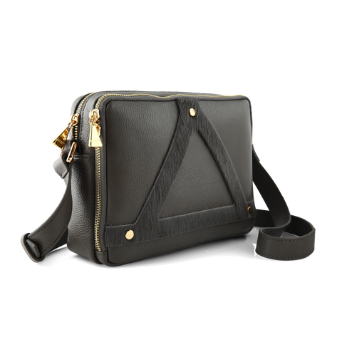 Triangle Bag 1.0: Pony hair
