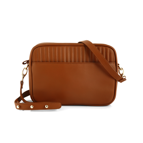 Box Bag: Brown