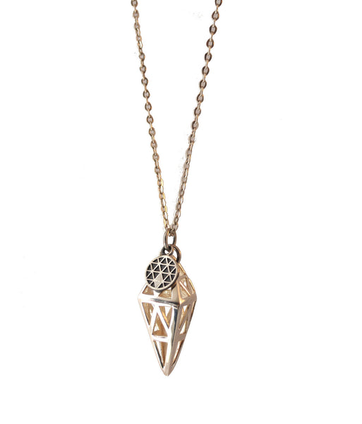 TRIANGLE PLANET NECKLACE