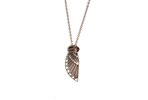 Heron Wing Necklace