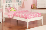 MISSION PLATFORM BED WITH OPEN FOOTBOARD