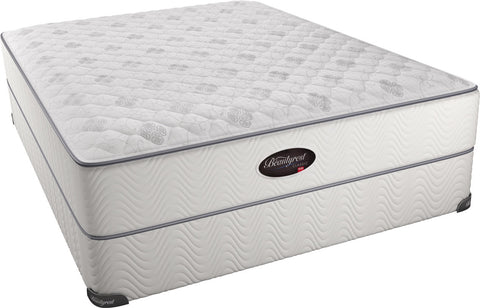 BEAUTYREST OFFSHORE MIST PLUSH MATTRESS ONLY