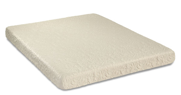 "6"" MEMORY FOAM MATTRESS ONLY"