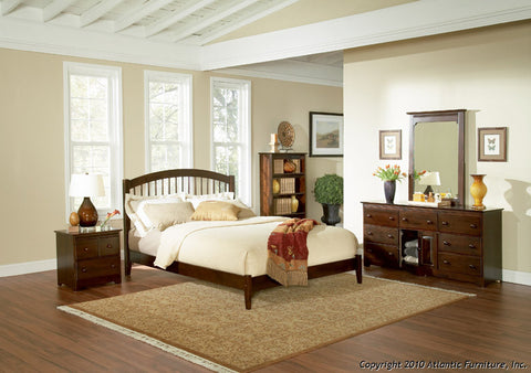WINDSOR PLATFORM BED WITH OPEN FOOTBOARD