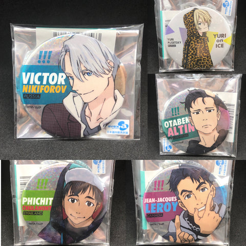 (現貨) ユーリ!!! on ICE Yuri!!! on ICE C91 2016 Winter ver. 襟章