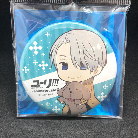 (現貨) ユーリ!!! on ICE Yuri!!! on ICE Animate Cafe 襟章&立牌