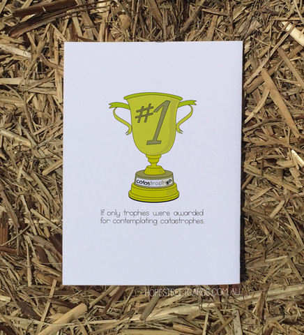 Hope Street Cards, Mental Health Card (Anxiety) Catas-trophy