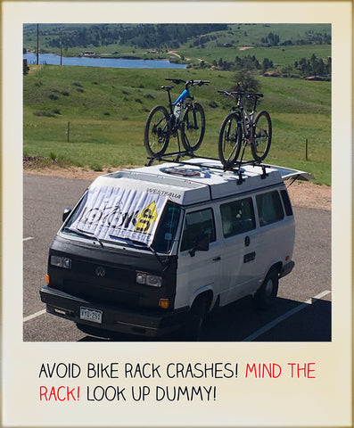 Avoid Bike Roof Rack Crash