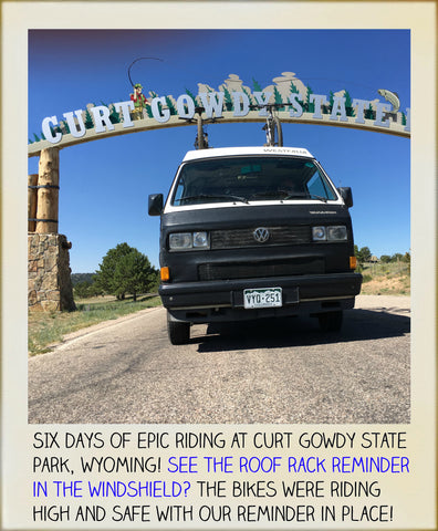 MTB VANLIFE Curt Gowdy State Park