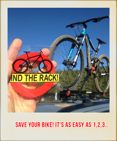 Save your bike from crashing into garage and low overhangs!