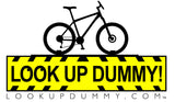 WARNING SIGN Removable and Reusable Vinyl Window Cling 3 X 5 Inches FREE SHIPPING! - Look Up Dummy!™