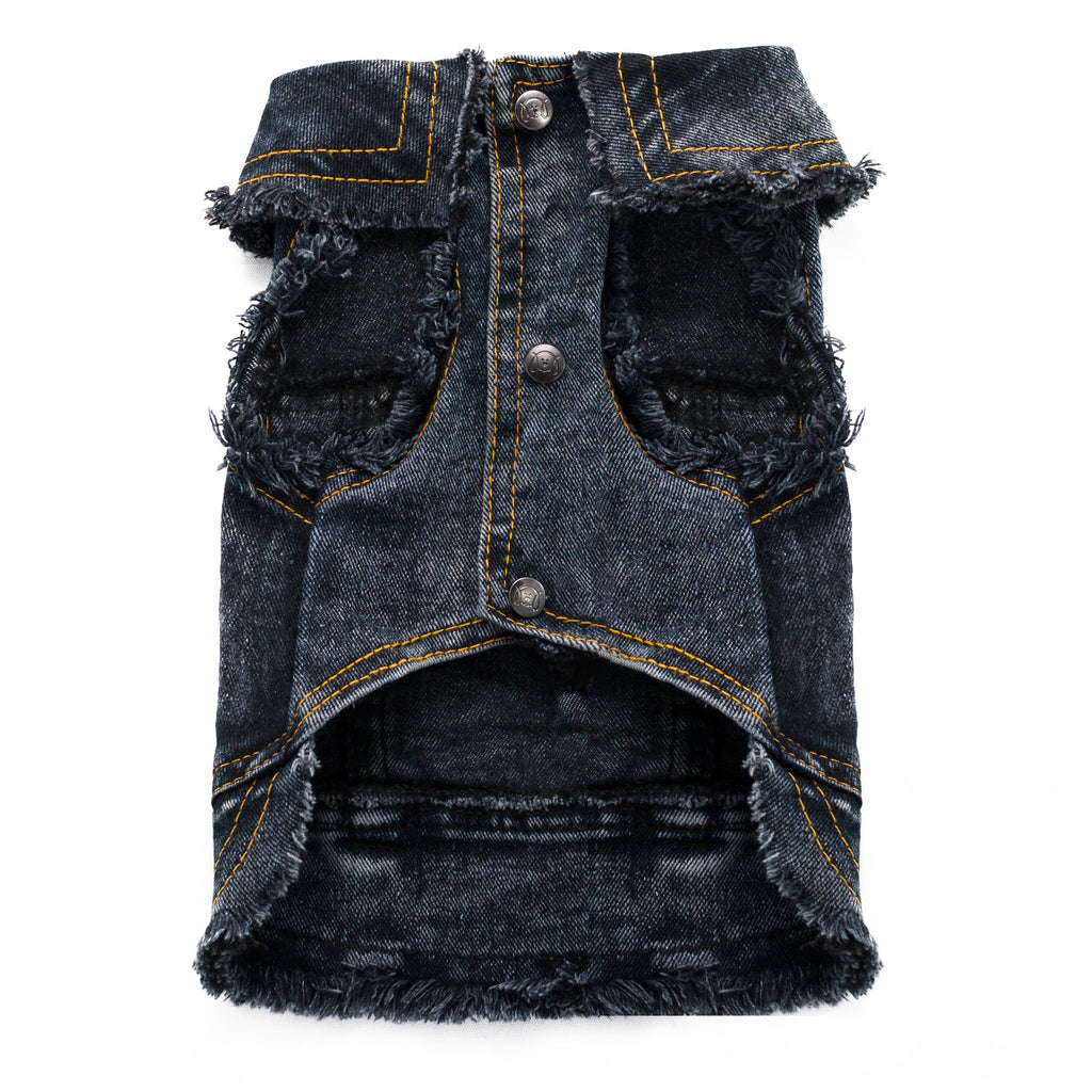 Cool Pups Dog Jean Jacket Dark Denim by United Pups