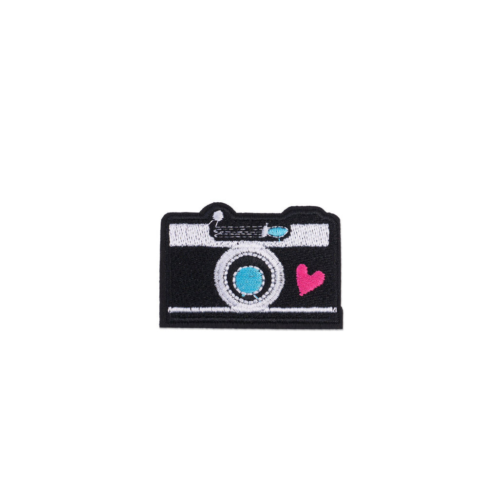 Cool Pups Iron-On Patches:  Big Hearted Camera from United Pups
