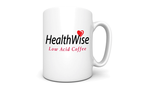 HealthWise 13 Ounce Coffee Mug - HealthWise Coffee