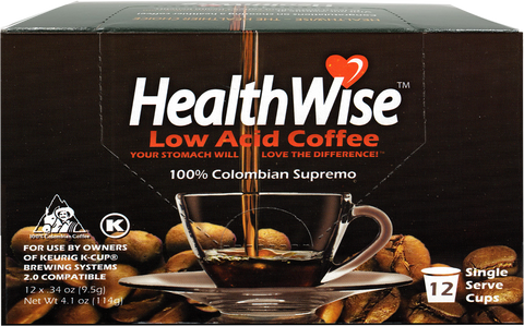 HealthWise Low Acid Keurig K-Cups - HealthWise Coffee