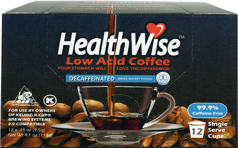 Swiss Water Decaf Keurig K-Cups - HealthWise Coffee