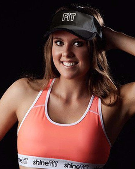 ShineFiT Visor Black