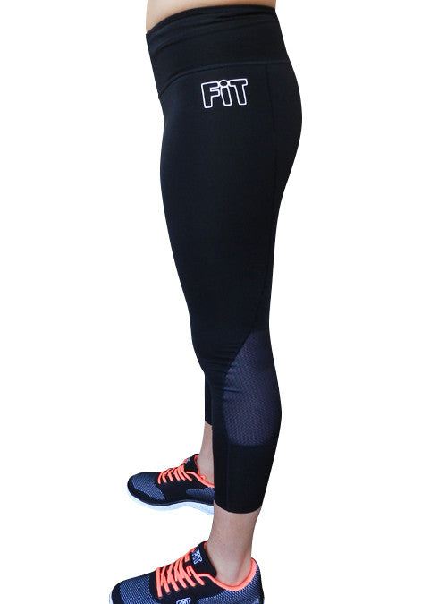 Black 7/8 Training Tights