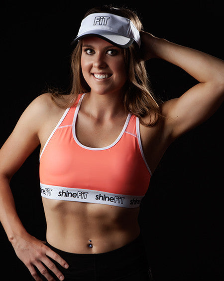 ShineFiT Visor White