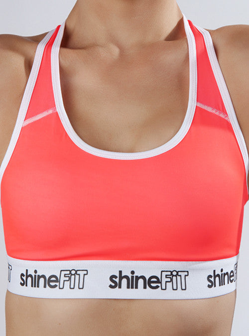 Active Sports Bra- Coral