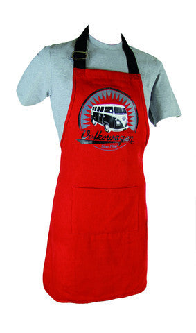 Das Stuff Apron with vintage Volkswagen T1 Bus graphic