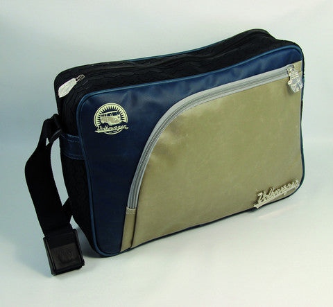 Das Stuff vintage VW inspired Messenger Bag edged with Tire Treading