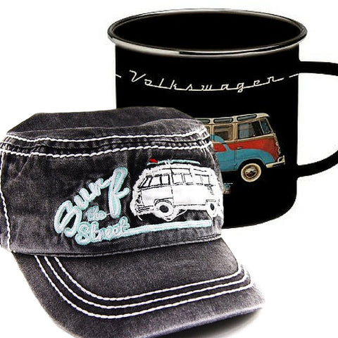 Das Stuff Father's Day Gifts - Classic VW Bus Mug and Cap
