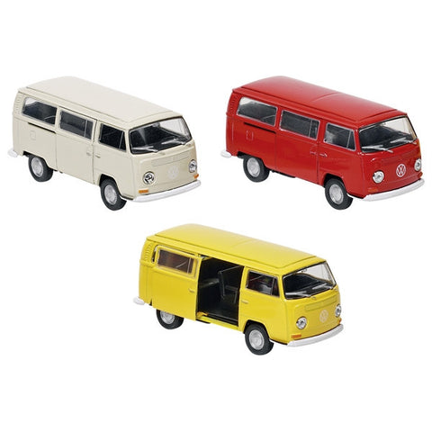 Die Cast Metal Vintage 1972 VW Bay Window Bus 1:34-39