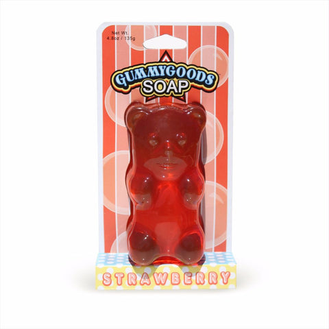 GummyGoods Gummy Bear Shaped Soap, Candy Scented Soap
