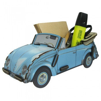 Das Stuff - vintage VW Beetle inspired pencil box or desk organizer from Werkhaus Germany