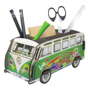 Werkhaus Volkswagen VW Van Pencil Box. Ready to assemble VW Campervan/Kombi
