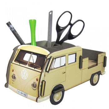 Werkhaus Volkswagen VW Van Pencil Box. Ready to assemble VW Doppelkabine or Pick Up