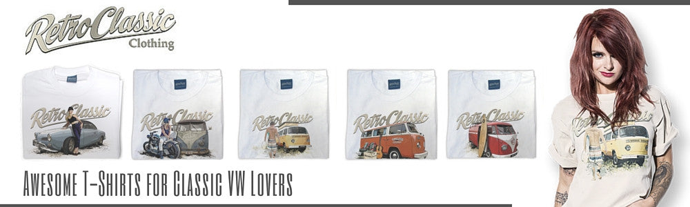 RetroClassic Clothing - T-Shirts with Unique Classic Volkswagen Graphics