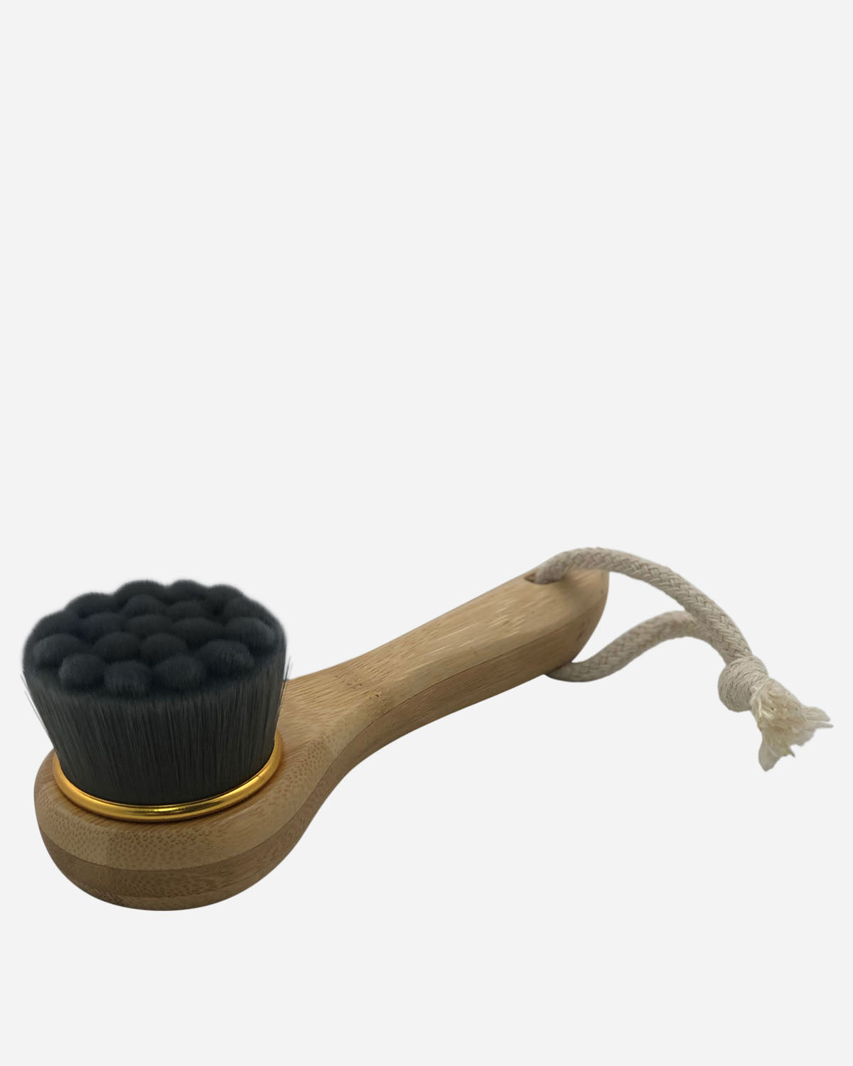 Soft Charcoal Bamboo Fibre Facial Brush