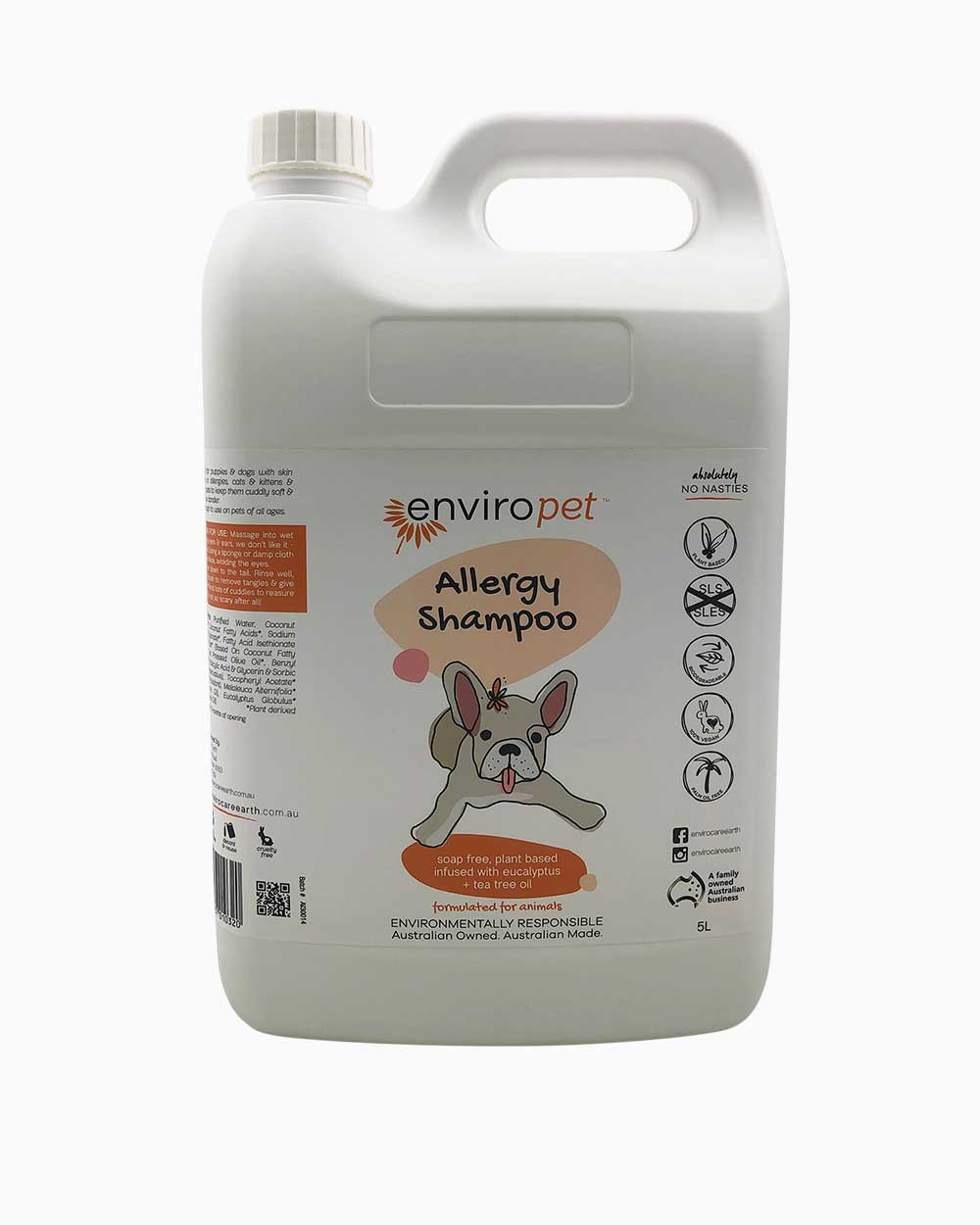 Pet Allergy Shampoo