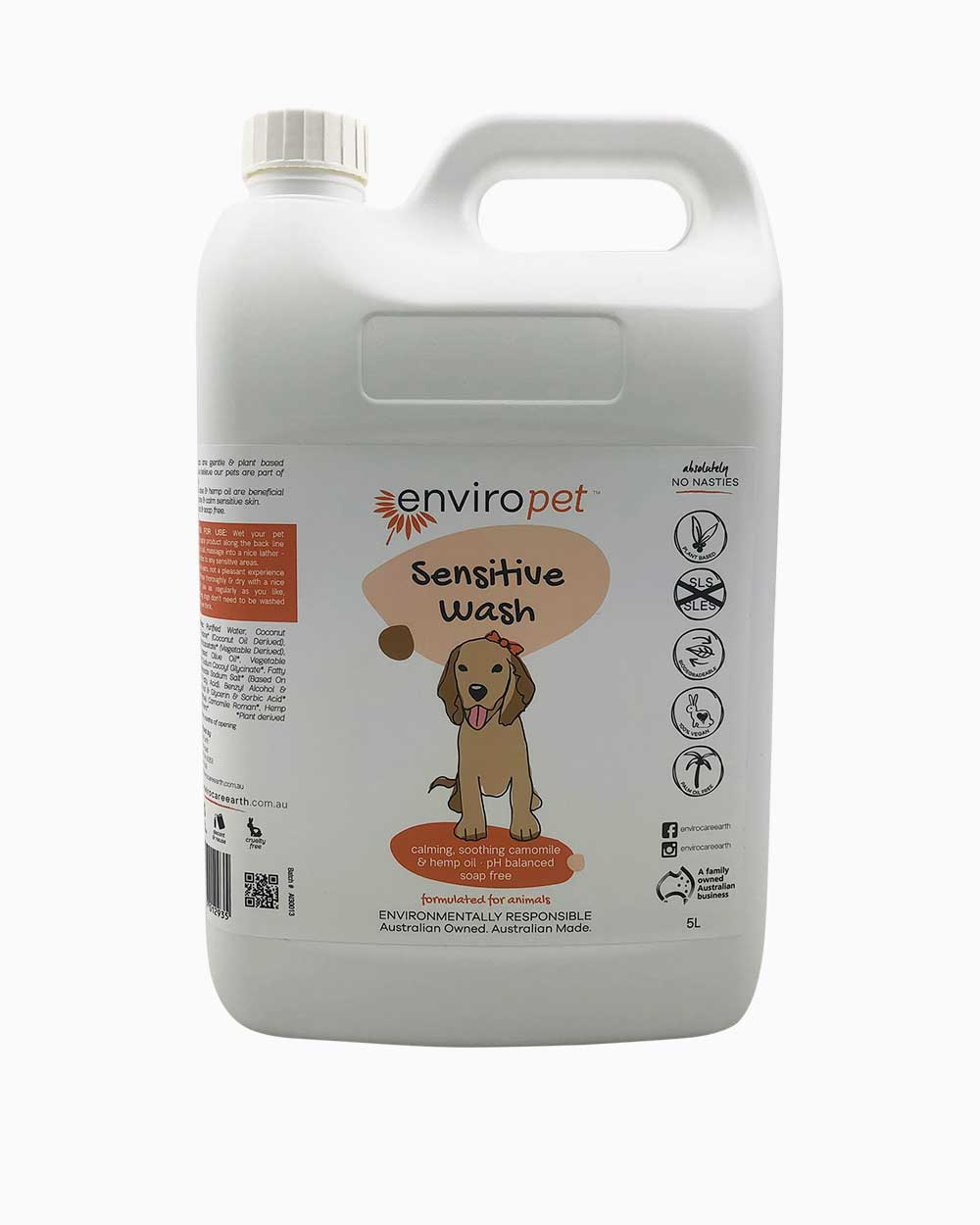 Pet Sensitive Wash