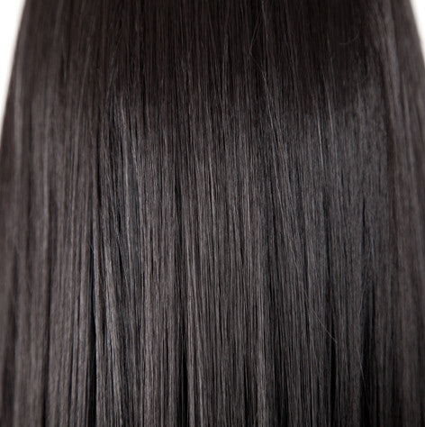 50g Wefts - Color #1B - Rich Off-Black