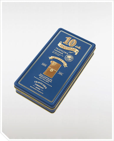 10th Anniversary Traveler's Notebook Mini Can Set - Camel
