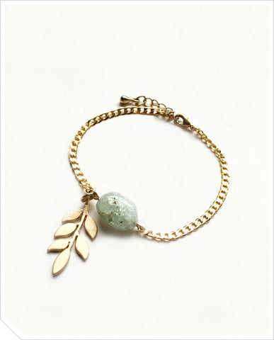 Aquamarine Bracelet - Light Turqoise