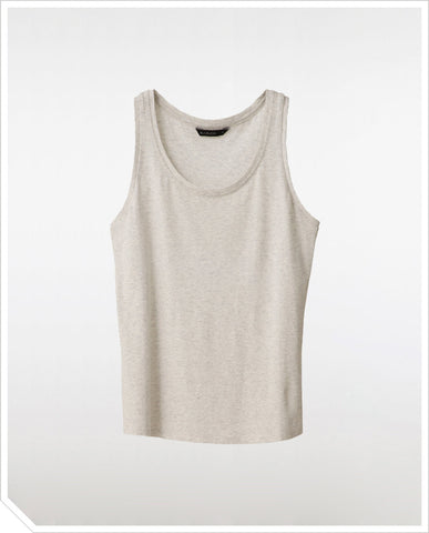 Army Tank Top - Pale Heather
