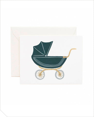 Greeting Card - Baby Pram