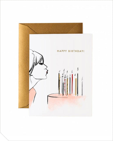 Birthday Greeting Card - Wish