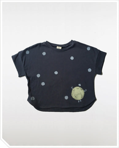 Buttercup Moon Tee - Charcoal