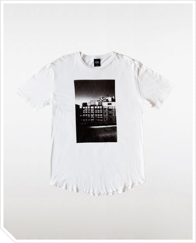 City Icon Photo Tee - White