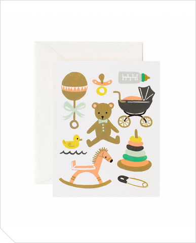 Greeting Card - Classic Baby