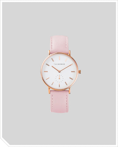 The Classic - Rose Gold / Baby Pink Leather